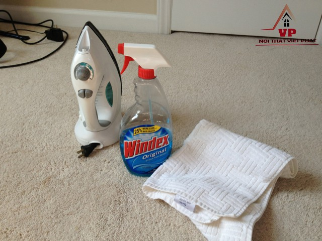 Cách Giặt Thảm Sợi Tổng Hợp