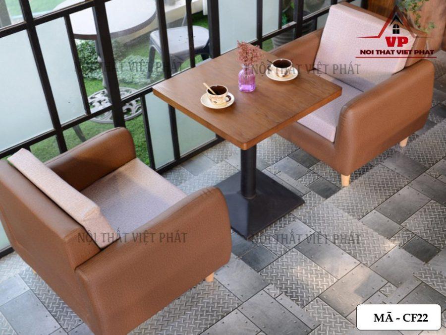 Bàn Ghế Cafe Giá Rẻ TPHCM - Mã CF22