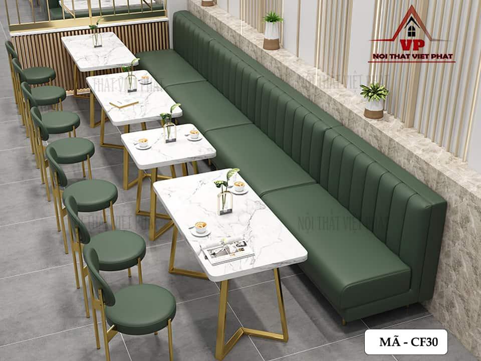 Bàn Ghế Đẹp Cho Quán Cafe - Mã CF30