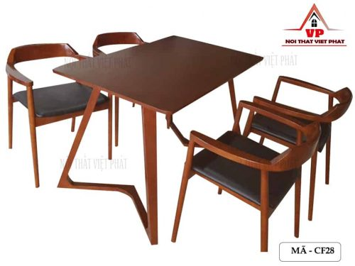 Bàn Ghế Quán Cafe Giá Rẻ - Mã CF28