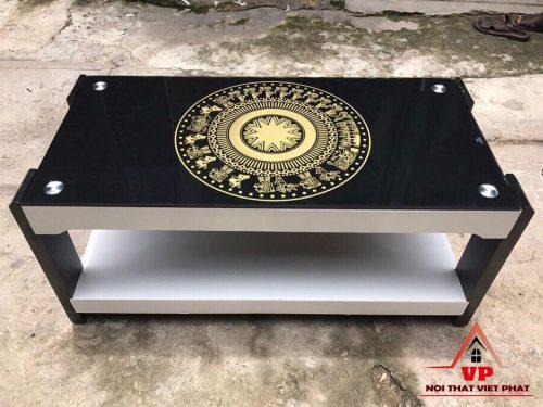 Bàn Sofa Sơn Trống Đồng - Mã BG22