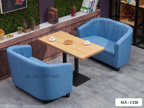 Bộ Bàn Ghế Sofa Cafe Giá Rẻ - Mã CF20-1