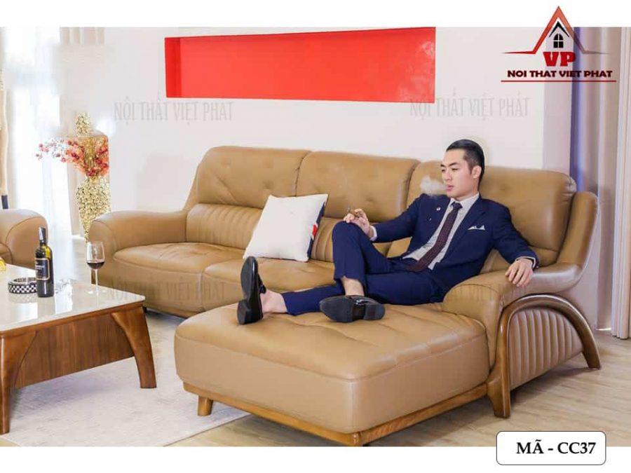 Bộ Bàn Ghế Sofa Cao Cấp Đẹp - Mã CC37