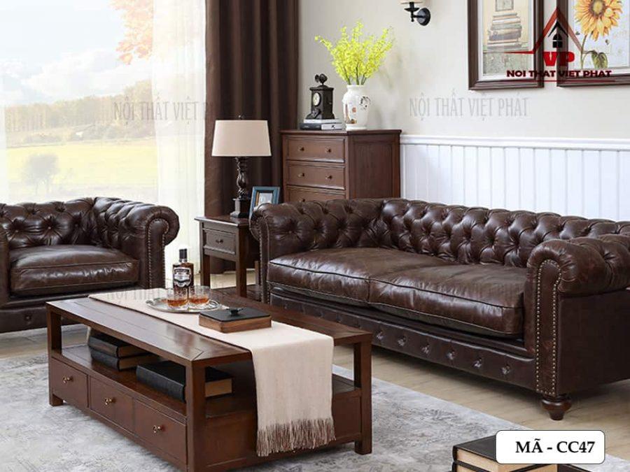 Ghế Sofa Băng Cao Cấp - Mã CC47