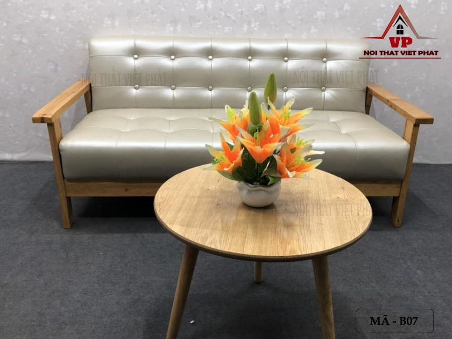 Ghế Sofa Băng Gỗ - Mã B07