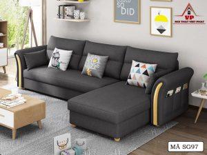Ghế Sofa Bed Cao Cấp - Mã SG97
