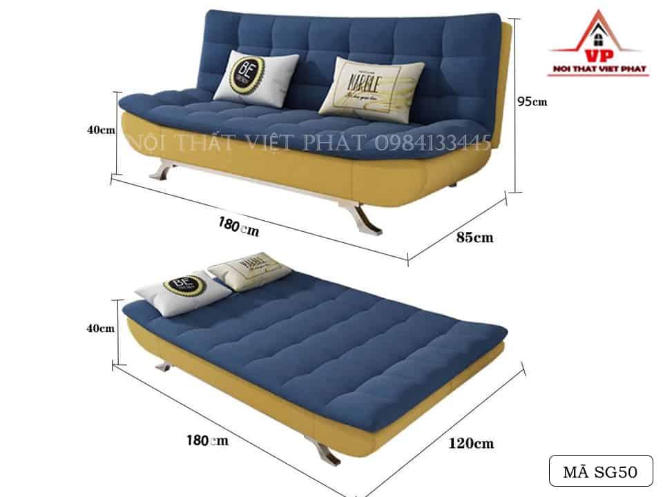 Ghế Sofa Bed - Mã SG50