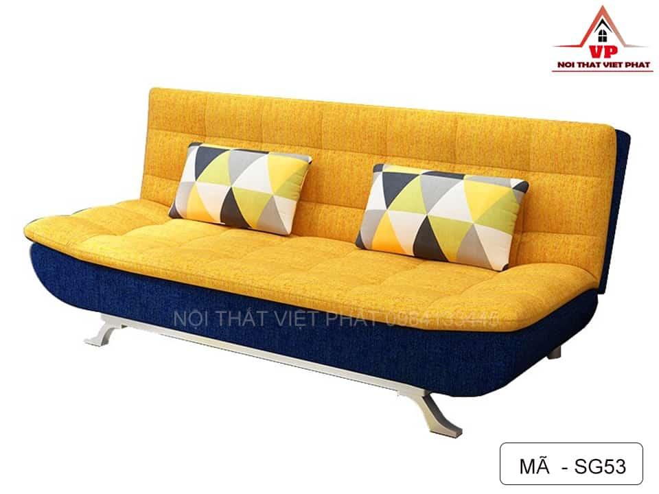 Ghế Sofa Bed Màu Vàng - Mã SG53