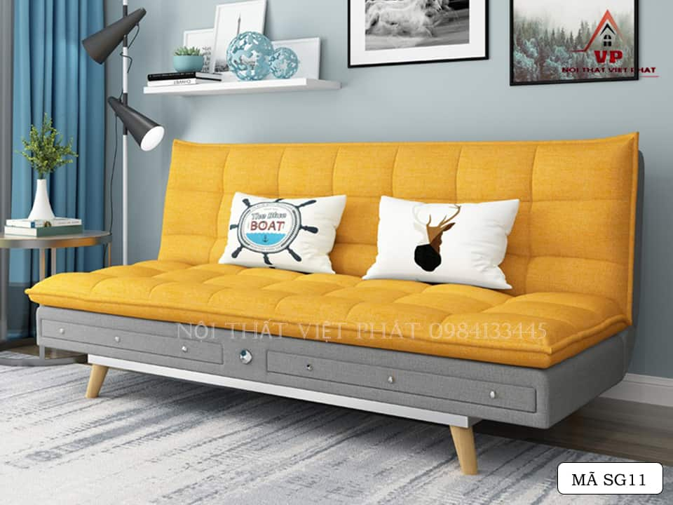 Ghế Sofa Bed Vải- Mã SG11