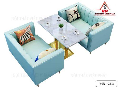 Ghế Sofa Cafe - Trà Sữa - Mã CF14