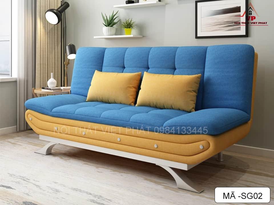 Ghế Sofa Giường Đẹp - Mã SG02