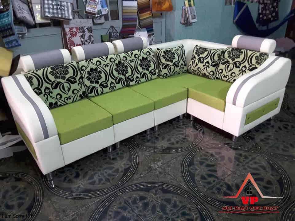 Ghế Sofa Góc Nhỏ Đẹp - Mã 37