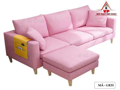 Ghế Sofa Vải Giá Rẻ Đẹp - Mã GR33