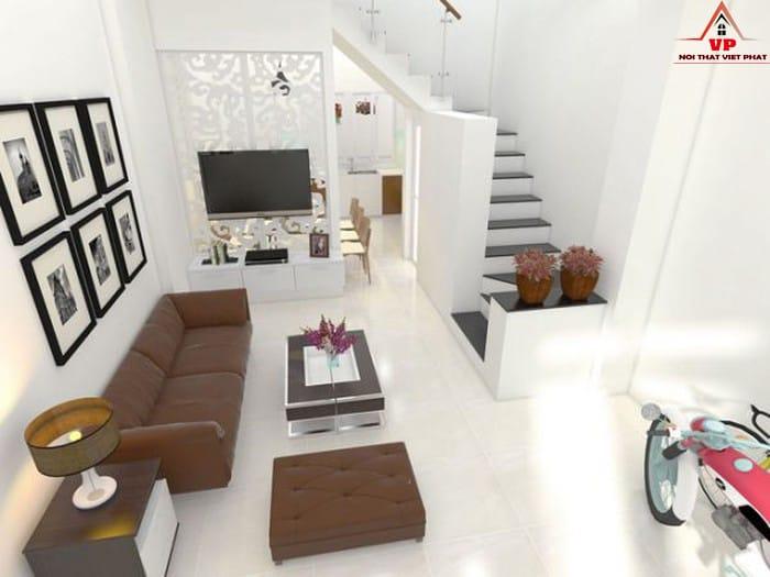 Mẫu Ghế Sofa Phòng Khách Nhà Ống