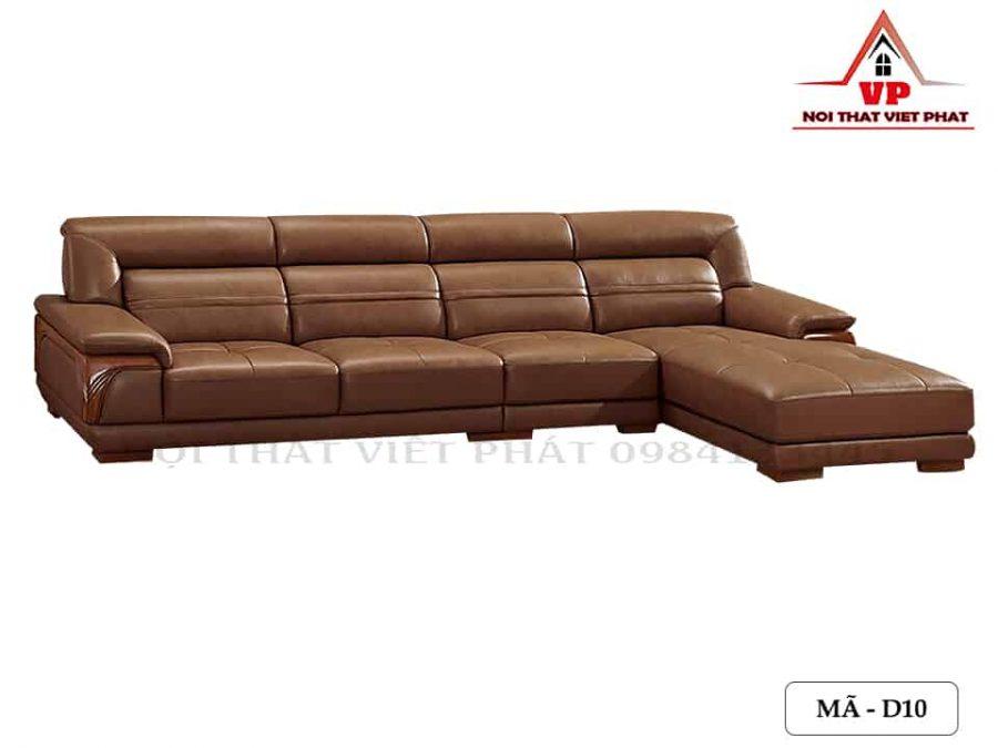 Sofa Bọc Da - Mã D10