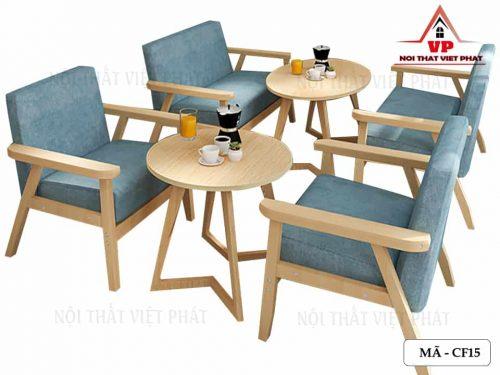 Sofa Cafe Máy Lanh-Mã CF15