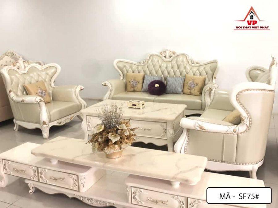 Sofa Cổ Điển Nhập Khẩu - Mã CĐ75-1