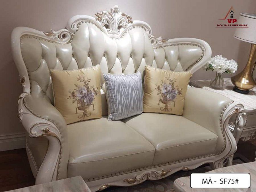 Sofa Cổ Điển Nhập Khẩu - Mã CĐ75-3
