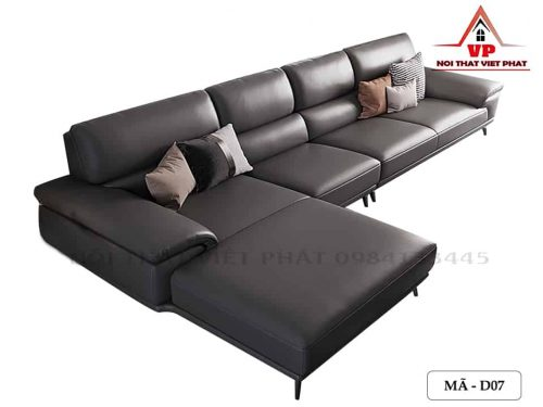 Sofa Da Công Nghiệp - Mã D07