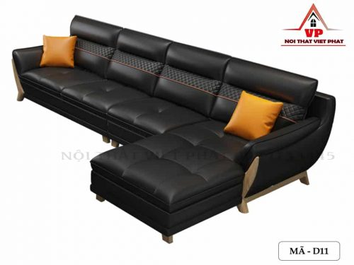 Sofa Da Đẹp - Mã D11