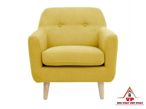 Sofa Đơn Màu Vàng - Mã SĐ18