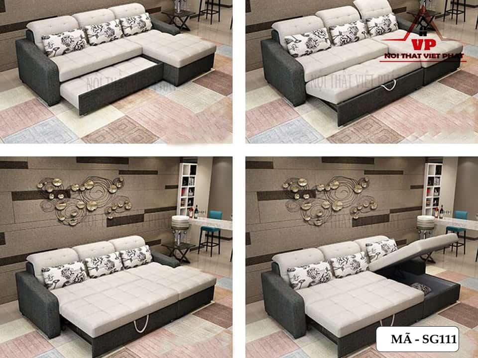 Sofa Giường Cao Cấp Hiện Đại - Mã SG111