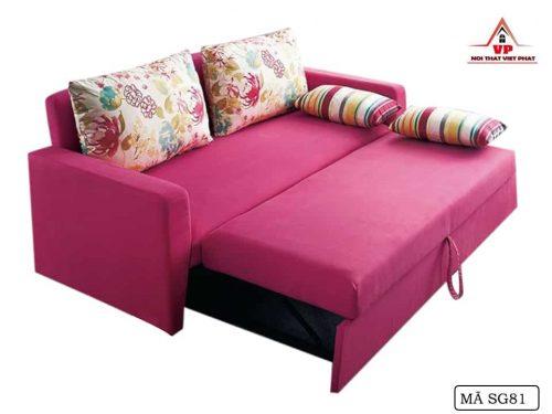 Ghế Sofa Giường Đủ Màu - Mã SG81