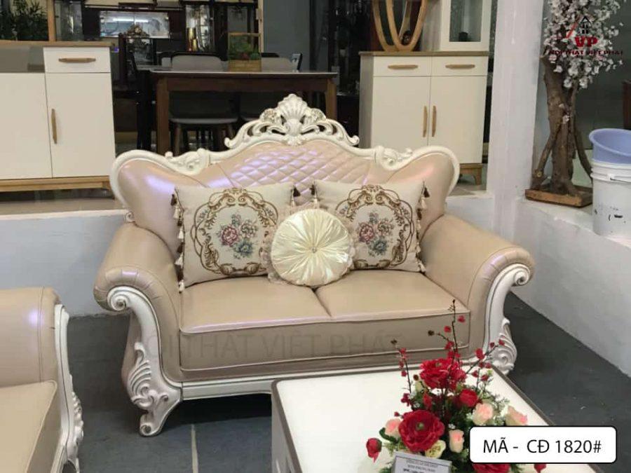 Sofa Nhập Khẩu Châu Âu - Mã CĐ1820