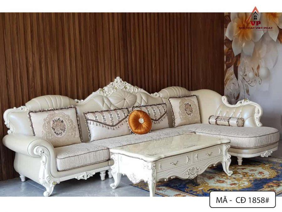 Sofa Phòng Khách Cổ Điển - Mã CĐ1858-1