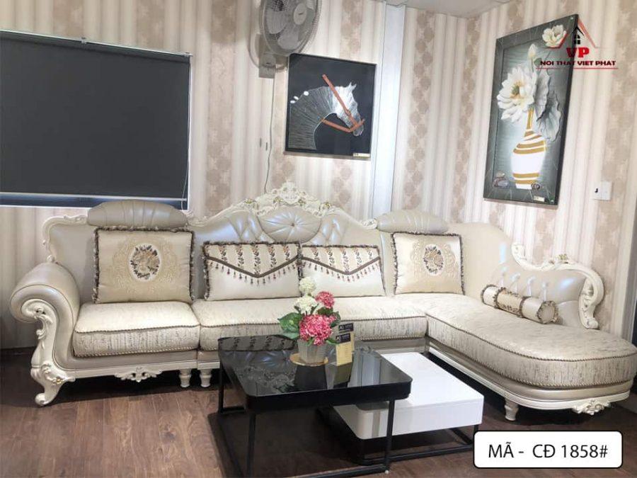 Sofa Phòng Khách Cổ Điển - Mã CĐ1858-2