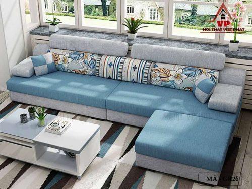 Sofa Vải Giá Rẻ - Mã GR26-2