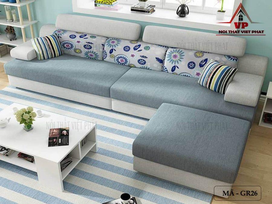 Sofa Vải Giá Rẻ - Mã GR26-3