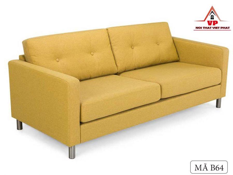 Sofa Văng Màu Vàng - Mã B64