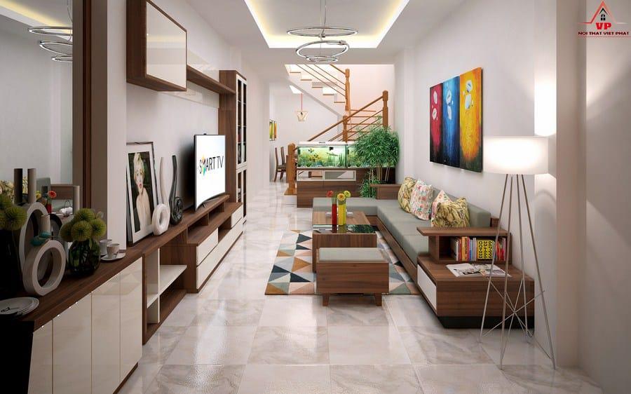 Trang Trí Sofa Phòng Khách Nhỏ