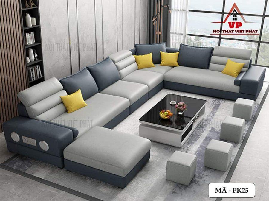 Ghế Sofa Phòng Khách Đẹp – Mã PK25-1