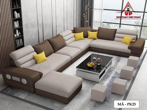 Ghế Sofa Phòng Khách Đẹp – Mã PK25-3