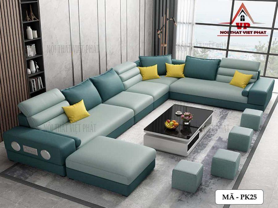 Ghế Sofa Phòng Khách Đẹp – Mã PK25-4