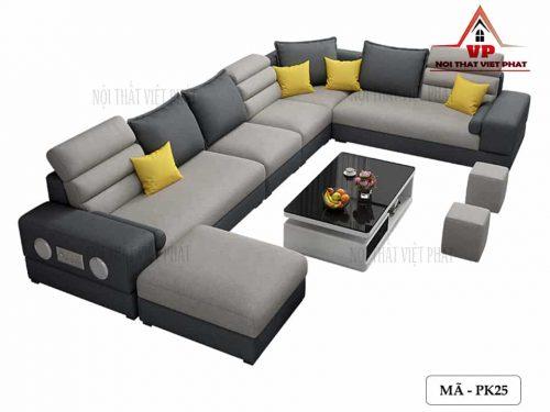 Ghế Sofa Phòng Khách Đẹp – Mã PK25